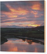 Castlemaine December Dawn Wood Print