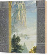 Castles In The Sky Wood Print by Greg Olsen