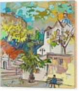 Castro Marim Portugal 13 Bis Wood Print