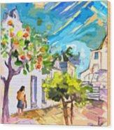 Castro Marim Portugal 15 Bis Wood Print