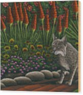 Cat - Bob The Bobcat Wood Print