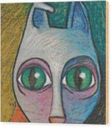 Cat  2000 Wood Print