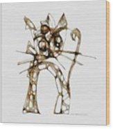 Cat 3672 Wood Print