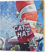 Cat In The Hat Series 2999 Wood Print