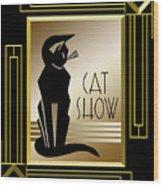 Cat Show - Frame 5 Wood Print