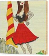 Catalancilla Wood Print