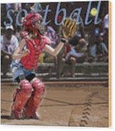 Catch It Wood Print by Kelley King