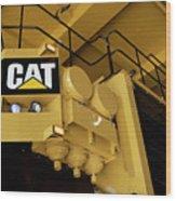 Caterpillar 797f Mining Truck 02 Wood Print