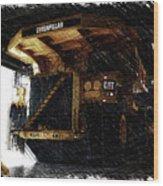 Caterpillar 797f Mining Truck Pa  Wood Print
