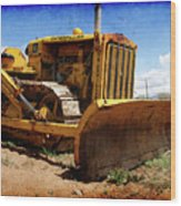 Caterpillar Twenty Two Wood Print