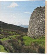 Cathair Na Steige  Wood Print