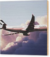 Cathay Pacific Airbus A330-343 Wood Print