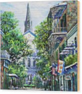 Cathedral At Orleans Wood Print
