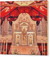 Cathedral Basilica Of St. Augustine Wood Print
