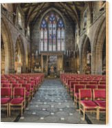 Cathedral Entrance Wood Print