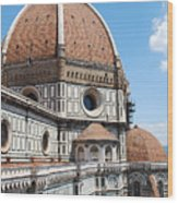 Cathedral Of Florence Wood Print