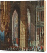 Cathedral Of San Miguel Wood Print