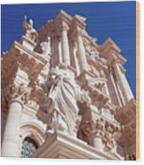 Cathedral Of Siracusa Wood Print