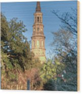 Cathedral Of St. John The Baptist Wood Print
