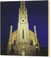 Cathedral Of The Assumption, Carlow, Co Wood Print