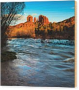 Cathedral Rock 8 Wood Print