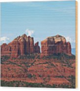 Cathedral Rock Wood Print by Kelly Wade