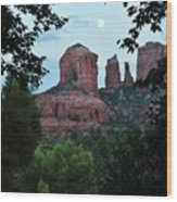 Cathedral Rock Rrc 081913 Aa Wood Print