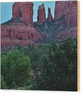 Cathedral Rock Rrc 081913 Ab Wood Print