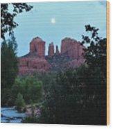 Cathedral Rock Rrc 081913 Ac Wood Print