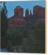Cathedral Rock Rrc 081913 Ad Wood Print