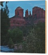 Cathedral Rock Rrc 081913 Ae Wood Print