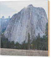 Cathedral Rocks Wood Print