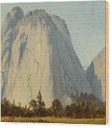 Cathedral Rocks  - Yosemite Valley Wood Print