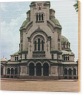 Cathedral Saint Alexandar Nevski Wood Print