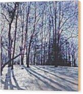 Cathedral Skies Wood Print