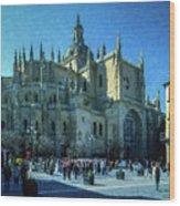 Cathedral, Spain Wood Print