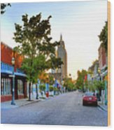 Cathedral Square Gallery On Dauphin Street Mobile Wood Print