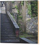 Cathedral Stairs Wood Print