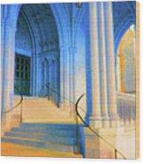 Cathedral Steps Wood Print