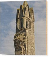 Cathedral Tower Wood Print