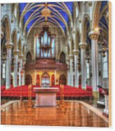 Cathedrial Assumption Wood Print
