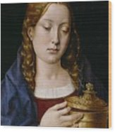 Catherine Of Aragon As The Magdalene Wood Print