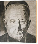 Catholic Cardinal Jozsef Mindszenty Wood Print