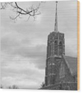 Catholic Chapel West Point Wood Print