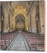 Catholic Church Wood Print