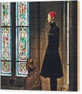 Catholic Imagination Fashion Show 2  Wood Print