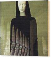 Catholic Imagination Fashion Show 3    Wood Print