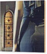 Catholic Imagination Fashion Show 5    Wood Print