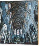 Catolic Church Wood Print