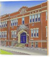 Catonsville Elementary School Wood Print